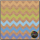 Suburbia Chevron on Burlap Digital Papers {Commercial Use