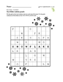 Sudoku snowflakes puzzles - 50 worksheets - Pack 1