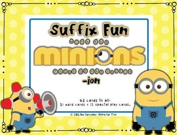 Suffix Fun with the Minions