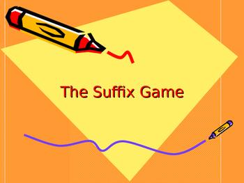 Suffix Game