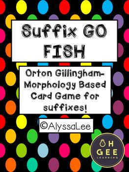 Suffix Go Fish- Morphology