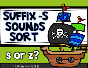 Suffix S Sounds