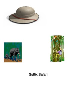 Suffix Safari- Common Core Aligned