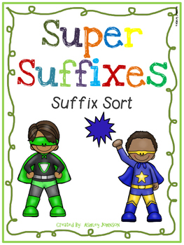 Suffix Sort Superhero Theme