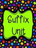 ED and ING: Suffix unit on inflectional endings (NO PREP p