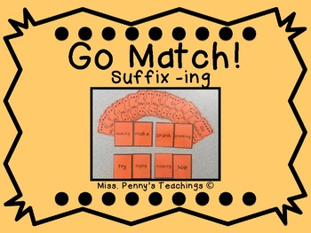 Suffix -ing Go Match!