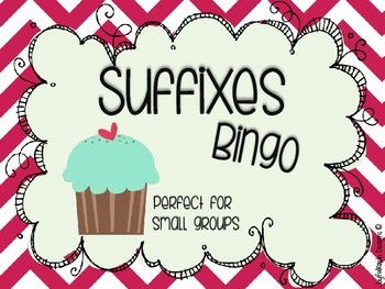Suffixes Bingo: Perfect for Small Groups!