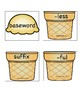 Suffixes -ful and -less Ice Cream Stack Activity/Literacy