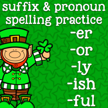 Suffixes -ly -ful -or -er -ish - Suffix Spelling - 2nd Gra