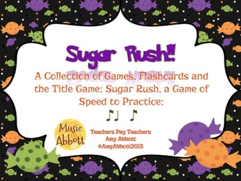 Sugar Rush: a Collection of Games for Teaching syn-co-pa