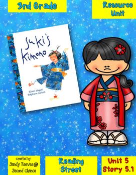 Suki's Kimono Reading Street 3rd Grade Resource Pack Unit