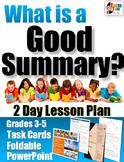 Summarizing Lesson Plan 1 (Literary Texts)
