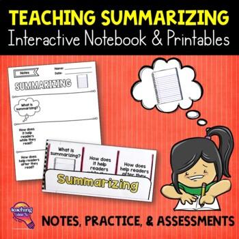 Summarizing  Reading Strategy Unit: Notes, Practice, & Assessment
