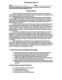 Summarizing and Adverbs Test