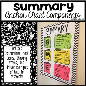 Summary Anchor Chart Components