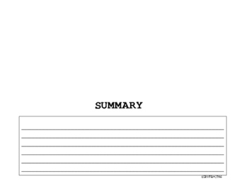 Summary Foldable-SWBST on front and Summary inside