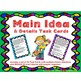 Summary, Main Idea, Inference, Drawing Conclusions Task Ca