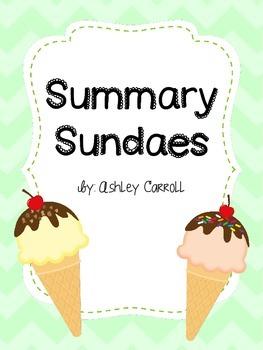 Summary Sundaes