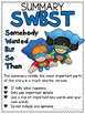 Summary Writing ~ SWTBS ~ Somebody Wanted To But So ~ RTI Reading