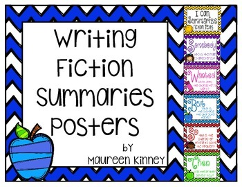 Summary Writing Posters (SWBST)