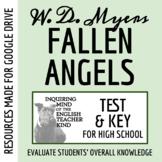 Fallen Angels by Walter Dean Myers - Test
