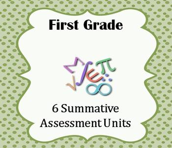 Summative Assessments Units (1st grade - 6 Units)