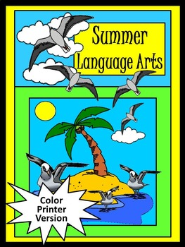 Summer Activities: Summer Language Arts Activity Packet