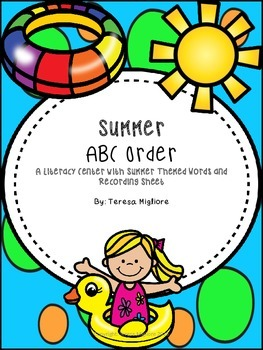Summer ABC Order Center