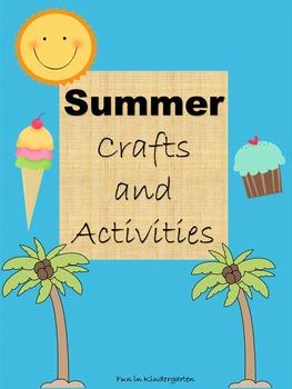 Summer Activities and Craftivities