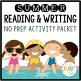 No Prep Summer Literacy Activity Packet