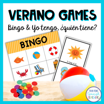 Summer Activity Set - Bingo, Word Search and More Games! {