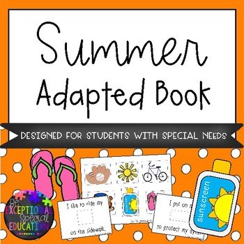 Summer Adapted Book