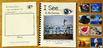 """Summer Adapted Book: """"I See"""" In the Summer"""