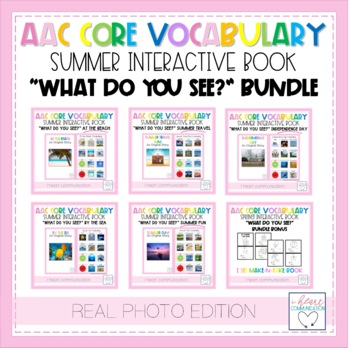 """Summer """"What Do You See?"""" Adaptive Interactive Books for A"""