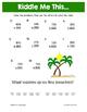 Summer Addition Math Riddles