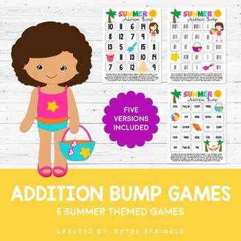 Summer Addition Bump Games
