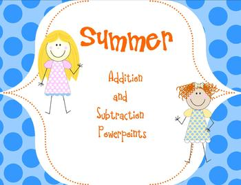 More Addition and Subtraction Powerpoints