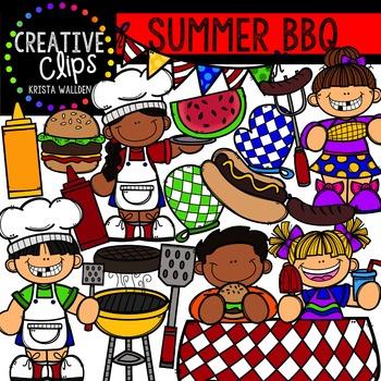 Summer BBQ {Creative Clips Digital Clipart}