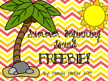 Summer Beginning Sound Freebie