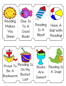 Summer Bookmarks!