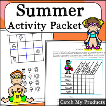 Summer Packet /Summer Activities to Keep Bright Minds Chal
