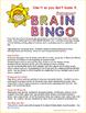 Summer Brain Bingo - Free Summer Learning Game Including R
