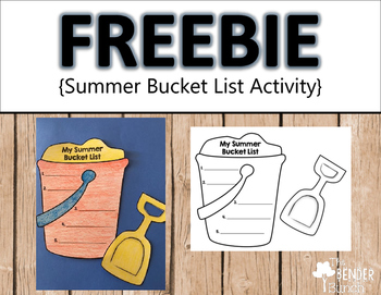 Summer Bucket List Activity {Freebie}