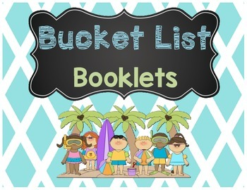Summer Bucket List Booklet