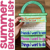 Summer Bucket List Flap Book Writing Craftivity