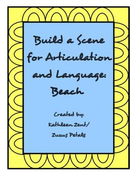 Summer Build a Scene Beach