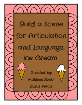 Summer Build a Scene Ice Cream