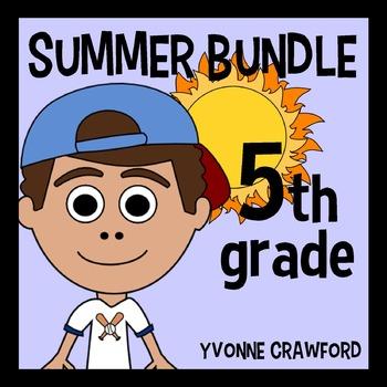 Summer Bundle for 5th Grade Endless
