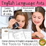 Summer Camp  Literacy Worksheets