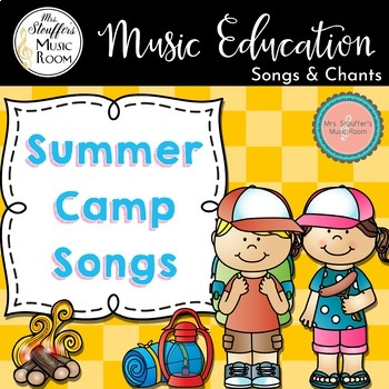 Summer Camp Song Booklet 1